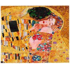 Πίνακας με Ψηφίδες Diamond Dotz Complete Κιτ The Kiss (Klimpt)