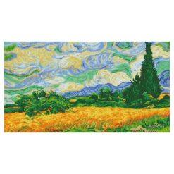 Πίνακας με Ψηφίδες Diamond Dotz Complete Κιτ Wheat Fields (Van Gogh)