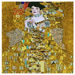 Πίνακας με Ψηφίδες Diamond Dotz Complete Κιτ Woman in Gold