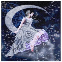 Πίνακας Diamond Dotz η Νεράιδα στο Φεγγάρι