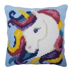 Παιδικό Μαξιλάρι για Κέντημα με το Unicorn