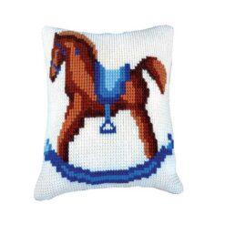 Παιδικό Μαξιλάρι για Κέντημα με το Άλογο