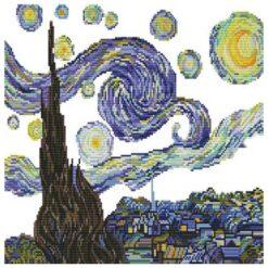 Σημεία που κεντάτε στο Starry Night ( Van Gogh)