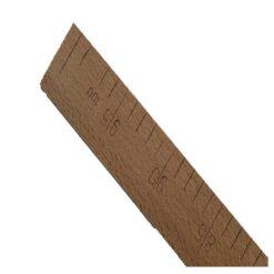 Χάρακας Ραπτικής Ξύλινος (Ρήγα) 1 Μέτρου