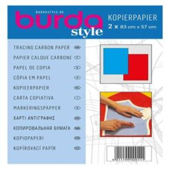 Χαρτί Αντιγραφής Burda σε Μπλε και Κόκκινο