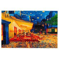 Πίνακας με Ψηφίδες Diamond Dotz Complete Κιτ Cafe at Night (Van Gogh)